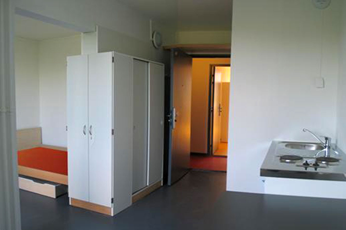 Chambre universitaire une r sidence tudiante 4 toiles la for Chambre universitaire